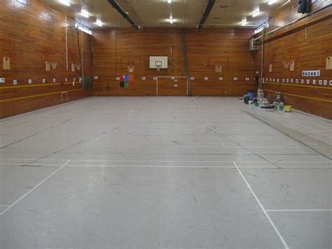 Deep Cleaning, Linemarking & Sealing Sports Hall, Finham