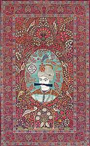 Le tapis persan et son histoire la revue de teheran iran for Tapis persan avec porte revue canapé