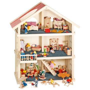 maison en bois jouet jouet en bois jouets des bois maison poup 233 es en bois massif 3 233 tages goki jouets des bois