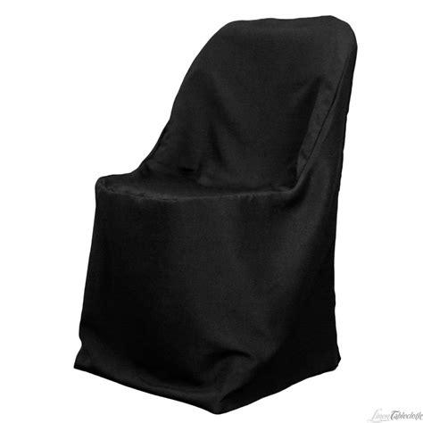 folding chair cover quot black quot