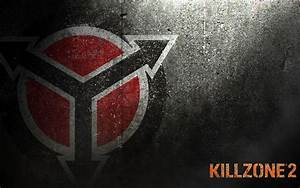 Killzone Helghast Logo Painted on Wall HD Wallpaper ...