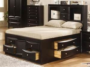 Full Size Beds With Storage Rustic Bedroom With Jaidyn