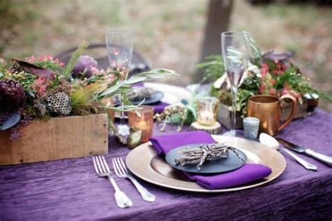 thanksgiving decor ideas  purple