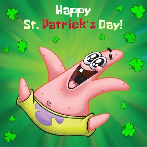 happy st patricks day spongebob squarepants