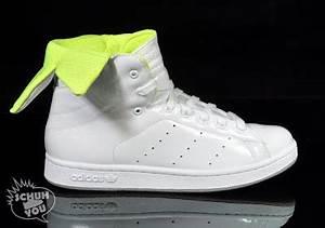 KICK GAME Adidas Trefoil Hi W White Neon