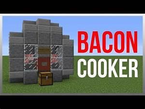 Minecraft Automatic Chicken Cooker - Design Templates