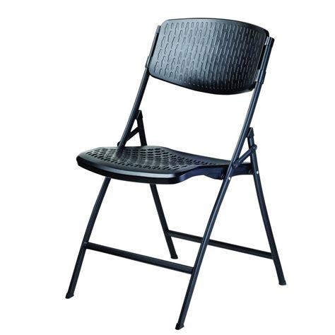 hdx folding contour chair black 4 pack chr 036a the home