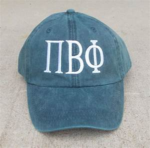 custom greek letter baseball cap With custom greek letter hats