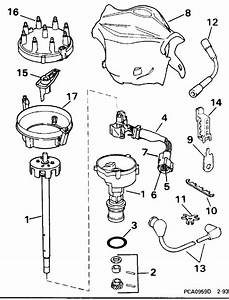 Omc Stern Drive Distributor Parts For 1996 5 0l 50fapncs