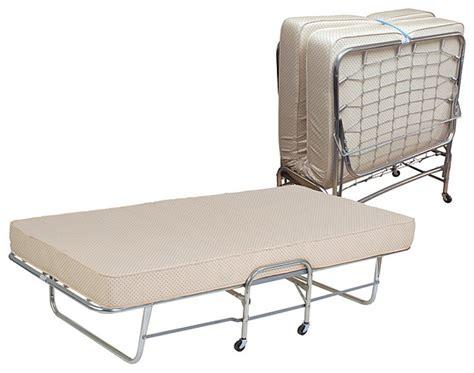folding rollaway bed twin size    foam mattress