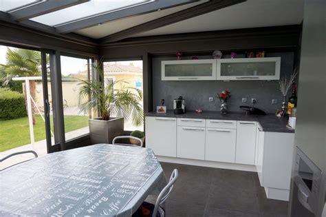 cuisine veranda cuisine dans véranda extension de cuisine par une véranda