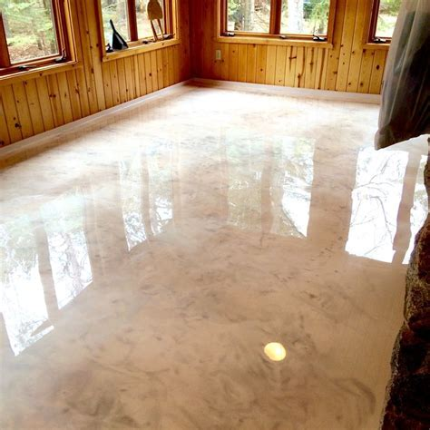 464 best Metallic Epoxy Floors images on Pinterest