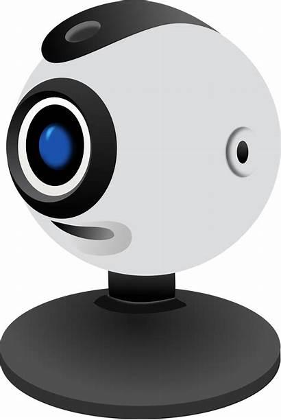 Camera Webcam Web Clip Monitor Clipart Background