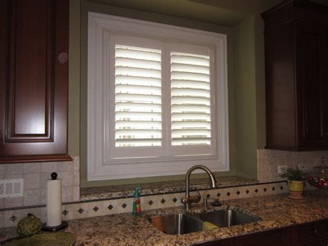 kitchen window shutters interior indoor window shutters with window interior shutter living room transitional and wallpaper and