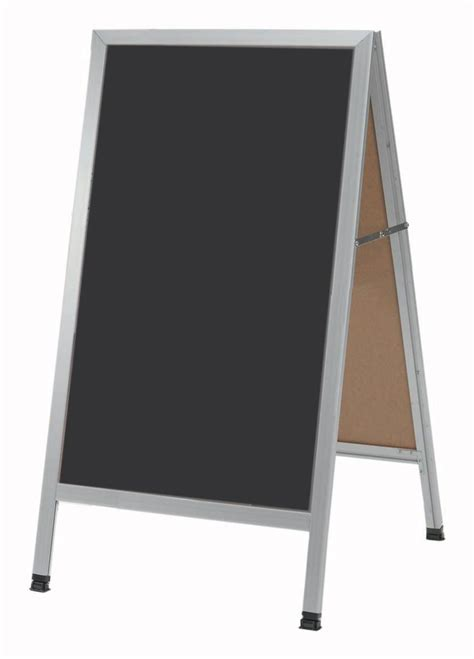 sandwich board sign double sided write on a frame