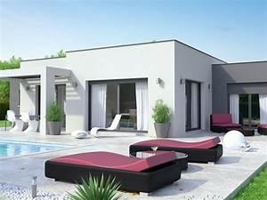 Maison Moderne Toit Plat : constructeur maison toit plat loire maisons id ales ~ Nature-et-papiers.com Idées de Décoration