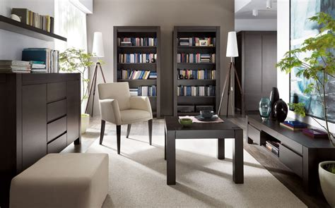 Attraktiv Wohnzimmer Dunkle Möbel