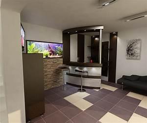 Bar Im Wohnzimmer : bilder 3d interieur wohnzimmer modern 39 casa iezareni 39 9 ~ Indierocktalk.com Haus und Dekorationen