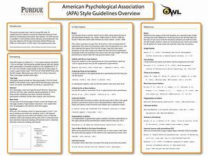 Purdue owl apa formatting and style guide for Purdue owl apa format template