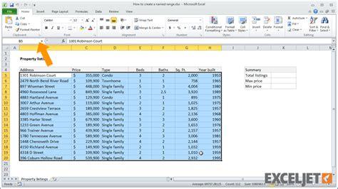 excel worksheets range excel worksheet range name breadandhearth