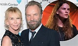 Sting and Trudie Styler cosy up on the red carpet at ...
