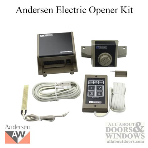 electric opener kit andersen psa awning window