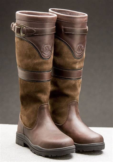 riding boots horse mountain waterproof country yard devonshire equestrian