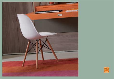 sedia scrivania design sedie per camerette moderne