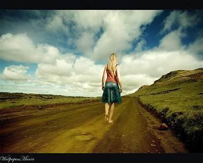 Barefoot Road Wallpapers Desktop Retro Clouds Zastavki