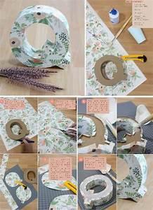 ¿Cómo decorar letras utilizando papel de regalo con flores