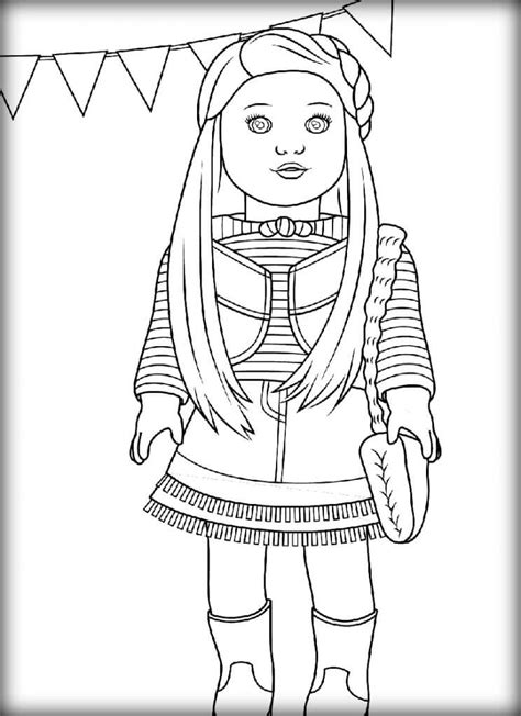 american girl coloring pages 5 Coloring Pages For Kids