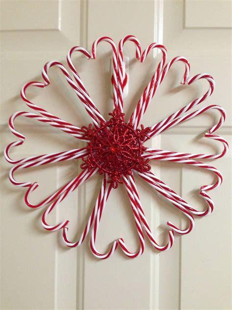 dollar tree candy cane wreath candy cane wreaths candy