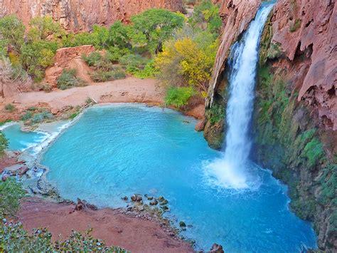 Havasu Falls Arizonaunited States Shah Nasir Travel
