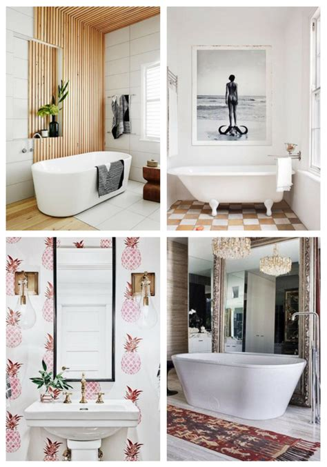 Here at bed bath & beyond we have tons of great ideas and wall art to give your rooms a little love. 25 Edgy Bathroom Wall Decor Ideas | ComfyDwelling.com