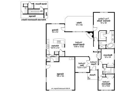 Craftsman Floor Plans by Craftsman House Plans Ridgefield 30 696 Associated Designs