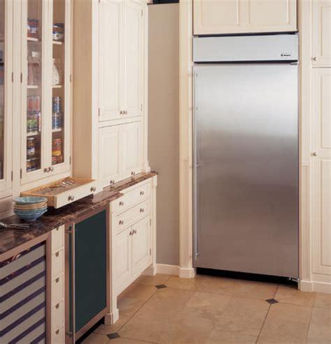 zirsnhrh monogram  built   refrigerator stainless steel