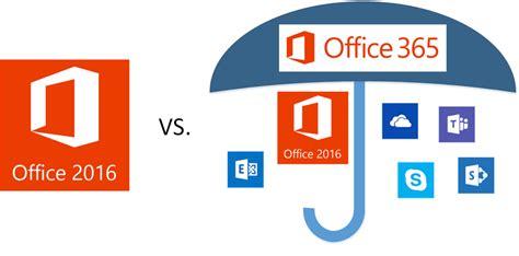 Office 2016 Vs. Office 365