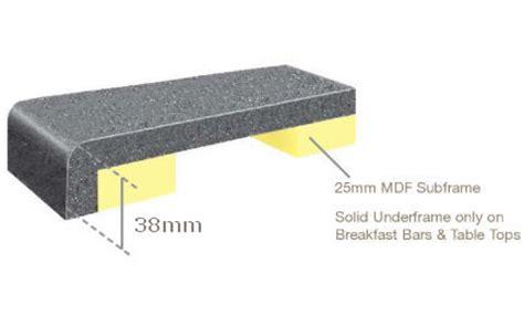 furniture kitchen islands corian solid surface kitchen worktops edge detail glasgow