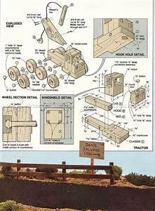 #1796 Wooden Wrecker Plan - Children's Wooden Toy Plans