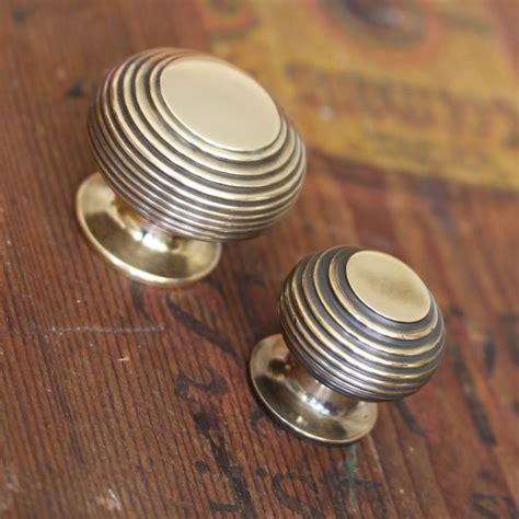 neptune kitchen furniture brass beehive cabinet knob