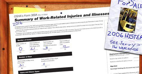 osha  form posting deadline  safety