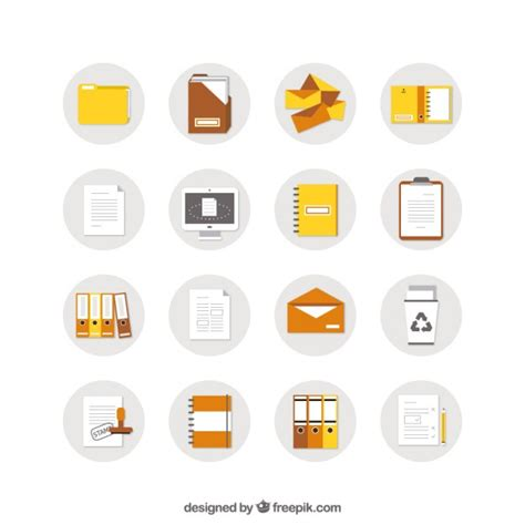 free document document icons vector free