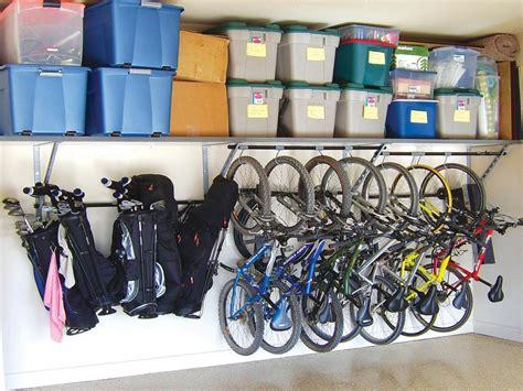 Bike Racks Free Up Floor Space By Mounting Bikes On