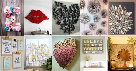 Then you'll love this cheap wall decoration idea for your bedroom or living room. More Amazing DIY Wall Art Ideas - DIY Cozy Home