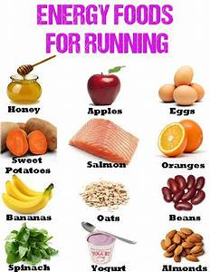 Energy foods for Running - What to eat when Running Daily ...