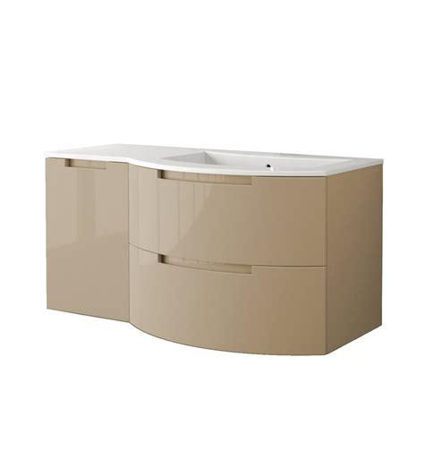 Bathroom Vanity Top With Sink On Left Side Latoscana Oa43opt3 Oasi 43 Inch Modern Bathroom Vanity