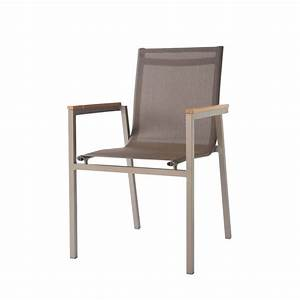 Fauteuil Jardin Aluminium : fauteuil de jardin en aluminium taupe antalya maisons du monde ~ Teatrodelosmanantiales.com Idées de Décoration