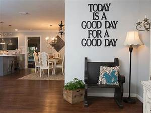 Photos hgtv39s fixer upper with chip and joanna gaines hgtv for Kitchen colors with white cabinets with large metal letter wall art