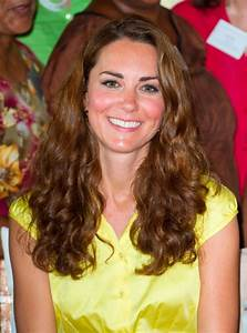Kate Middleton with curly hair — CurlTalk