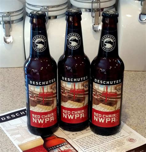 received deschutes brewery red chair nwpa 2016 the